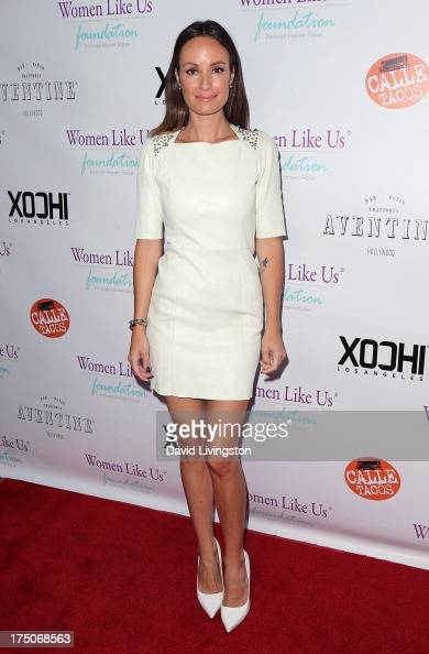 TV host Catt Sadler attends the One Girl At A Time fundraiser at Aventine Hollywood on July 30 2013 in Hollywood California