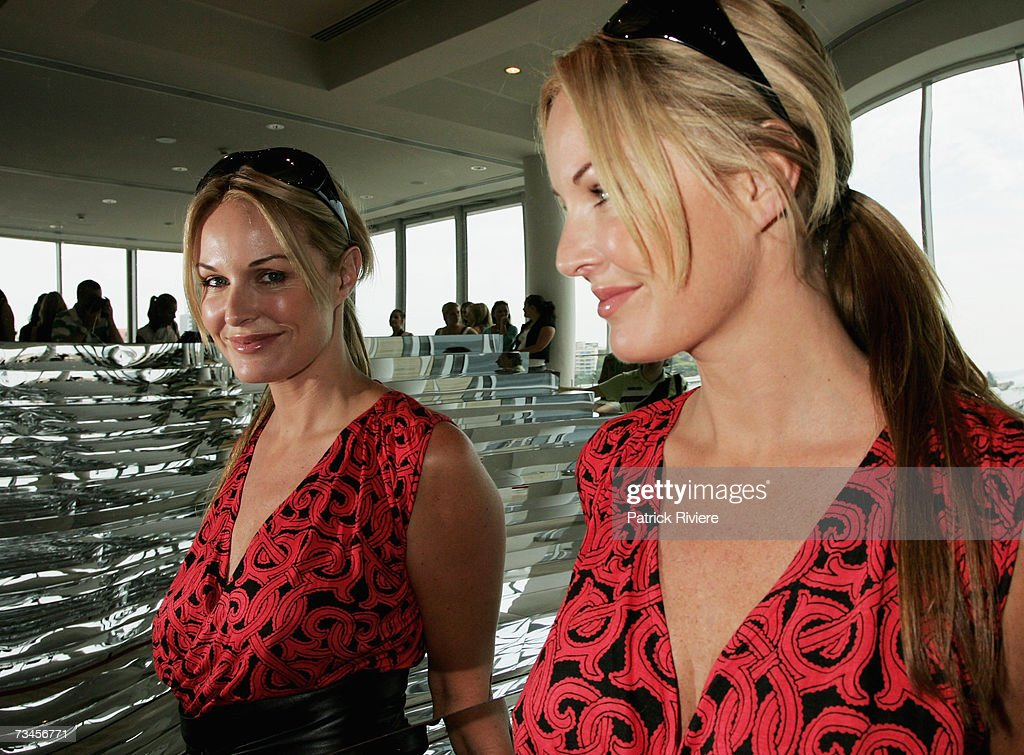 TV host Charlotte Dawson attends the Myer Winter 07 fashion launch lunch at the Art Gallery of NSW on March 1 2007 in Sydney Australia