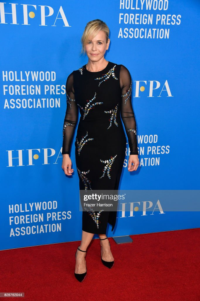 Host Chelsea Handler attends the Hollywood Foreign Press Association's Grants Banquet at the Beverly Wilshire Four Seasons Hotel on August 2, 2017 in Beverly Hills, California.