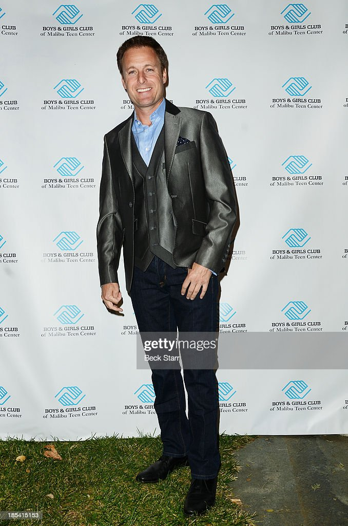 TV host <a gi-track='captionPersonalityLinkClicked' href=/galleries/search?phrase=Chris+Harrison&family=editorial&specificpeople=583468 ng-click='$event.stopPropagation()'>Chris Harrison</a> attends at the Malibu Boys And Girls Club Fundraiser to introduce the 2013 BGCM Youth of the Year on October 19, 2013 in Malibu, California.