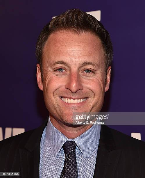 TV host Chris Harrison attends the WE tv presents 'The Evolution of The Relationship Reality Show' at The Paley Center for Media on March 19 2015 in...