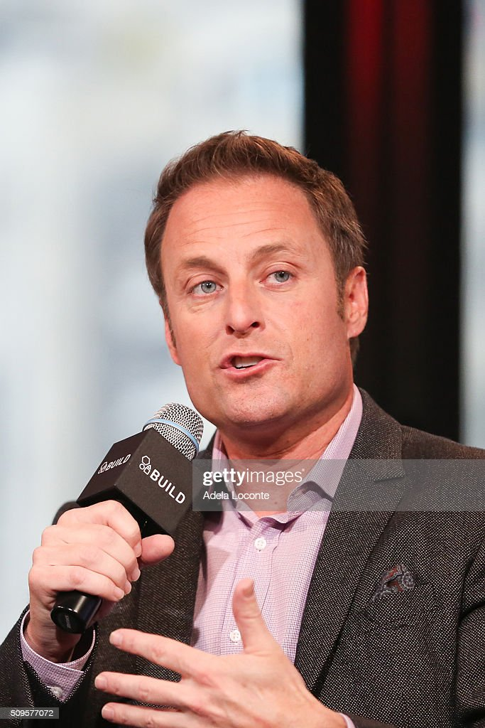 TV Host Chris Harrison discusses 'The Bachelor' at AOL Studios In New York on February 11, 2016 in New York City.