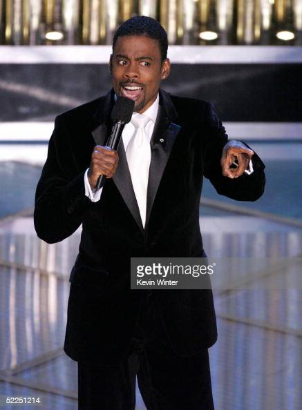 TELECAST*** Host Chris Rock onstage during the 77th Annual Academy Awards on February 27 2005 at the Kodak Theater in Hollywood California