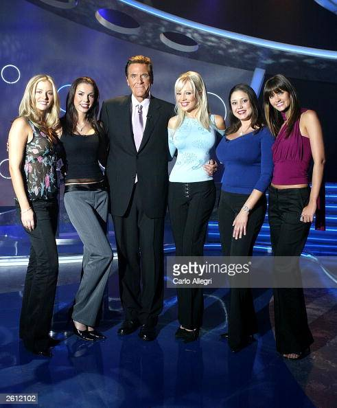Game Show Network Show Lingo Stacey Hayes Stock Photos And
