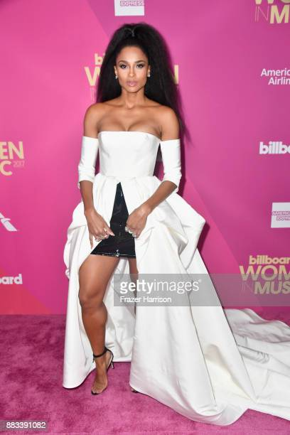 Host Ciara attends Billboard Women In Music 2017 at The Ray Dolby Ballroom at Hollywood Highland Center on November 30 2017 in Hollywood California