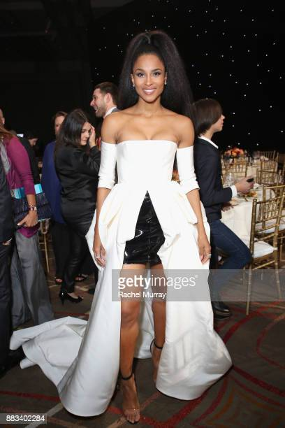 Host Ciara attends Billboard's Women in Music 2017 presented in partnership with FIJI Water on November 30 2017 in Hollywood California