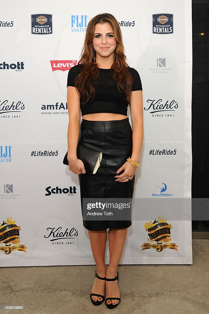 Host Clare Galterio attends the 5th Annual Kiehl's LifeRide for amfAR Finale Celebration on August 12, 2014 in New York City.