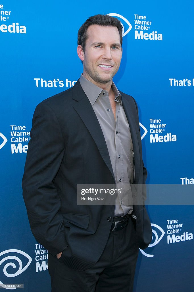 TV Host Colby Donaldson attends the Time Warner Cable Media (TWC Media) 'View From The Top' Upfront at Vibiana on June 19, 2013 in Los Angeles, California.
