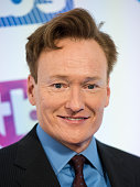 Host Conan O'Brien attends TBS's 'A Night Out with Conan O'Brien Rashida Jones Samantha Bee and Jason Jones' at The New Museum on May 17 2016 in New...
