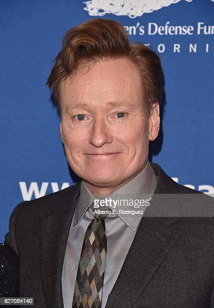 Host Conan O'Brien attends the 26th Annual Beat The Odds Awards hosted by Children's Defense Fund California at Regent Beverly Wilshire Hotel on...