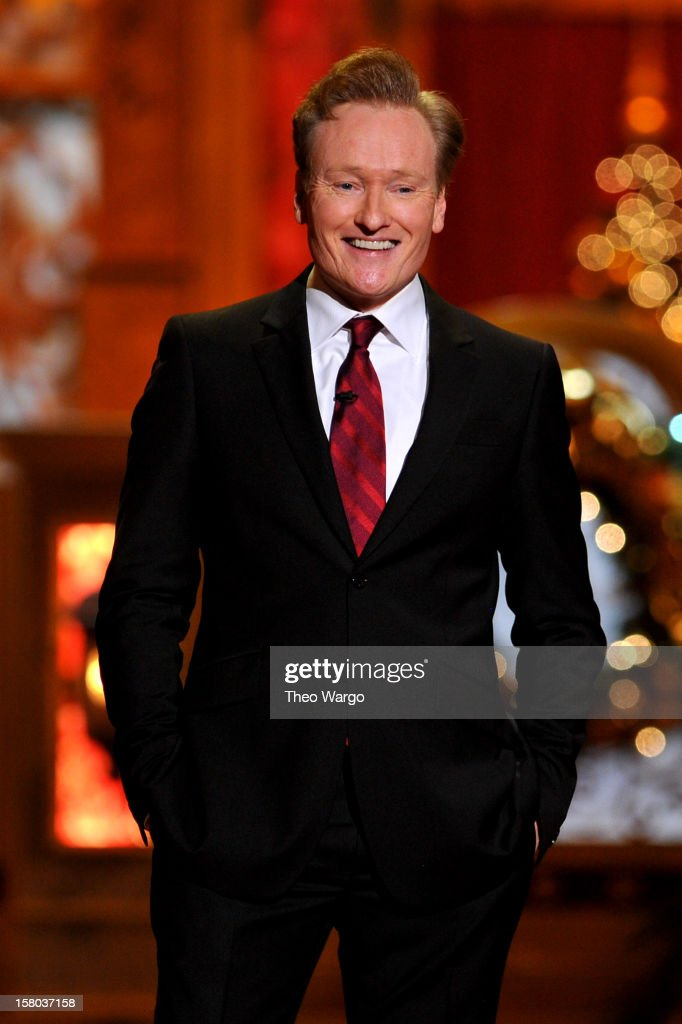 Host <a gi-track='captionPersonalityLinkClicked' href=/galleries/search?phrase=Conan+O%27Brien&family=editorial&specificpeople=208095 ng-click='$event.stopPropagation()'>Conan O'Brien</a> speaks onstage during TNT Christmas in Washington 2012 at National Building Museum on December 9, 2012 in Washington, DC. 23098_002_TW_0243.JPG