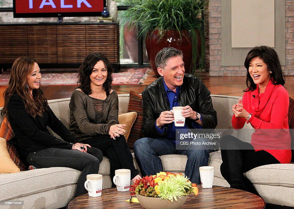 SHOW host <a gi-track='captionPersonalityLinkClicked' href=/galleries/search?phrase=Craig+Ferguson+-+Talk+Show+Host&family=editorial&specificpeople=204509 ng-click='$event.stopPropagation()'>Craig Ferguson</a> shared some laughs with the ladies of THE TALK (L-R: <a gi-track='captionPersonalityLinkClicked' href=/galleries/search?phrase=Leah+Remini&family=editorial&specificpeople=214062 ng-click='$event.stopPropagation()'>Leah Remini</a>, <a gi-track='captionPersonalityLinkClicked' href=/galleries/search?phrase=Sara+Gilbert&family=editorial&specificpeople=585732 ng-click='$event.stopPropagation()'>Sara Gilbert</a>, <a gi-track='captionPersonalityLinkClicked' href=/galleries/search?phrase=Craig+Ferguson+-+Talk+Show+Host&family=editorial&specificpeople=204509 ng-click='$event.stopPropagation()'>Craig Ferguson</a> and <a gi-track='captionPersonalityLinkClicked' href=/galleries/search?phrase=Julie+Chen&family=editorial&specificpeople=206213 ng-click='$event.stopPropagation()'>Julie Chen</a>) on Monday, November 8, on the CBS Television Network. THE TALK is hosted by <a gi-track='captionPersonalityLinkClicked' href=/galleries/search?phrase=Julie+Chen&family=editorial&specificpeople=206213 ng-click='$event.stopPropagation()'>Julie Chen</a>, <a gi-track='captionPersonalityLinkClicked' href=/galleries/search?phrase=Sara+Gilbert&family=editorial&specificpeople=585732 ng-click='$event.stopPropagation()'>Sara Gilbert</a>, Sharon Osbourne, Holly Robinson Peete, <a gi-track='captionPersonalityLinkClicked' href=/galleries/search?phrase=Leah+Remini&family=editorial&specificpeople=214062 ng-click='$event.stopPropagation()'>Leah Remini</a> and Marissa Jaret Winokur. Brad Bessey, Gilbert, who developed the show, and John Redmann are executive producers.