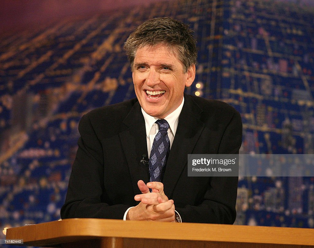 Host Craig Ferguson speaks during a segment of 'The Late Late Show with Craig Ferguson' at CBS Television City on May 17, 2007 in Los Angeles, California.