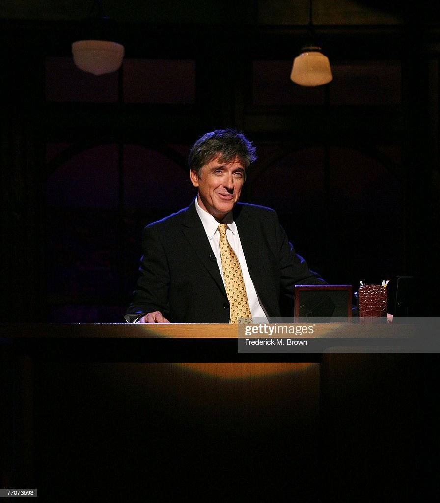 Host Craig Ferguson speaks during a segment of 'The Late Late Show with Craig Ferguson' at CBS Television City on September 27, 2007 in Los Angeles, California.