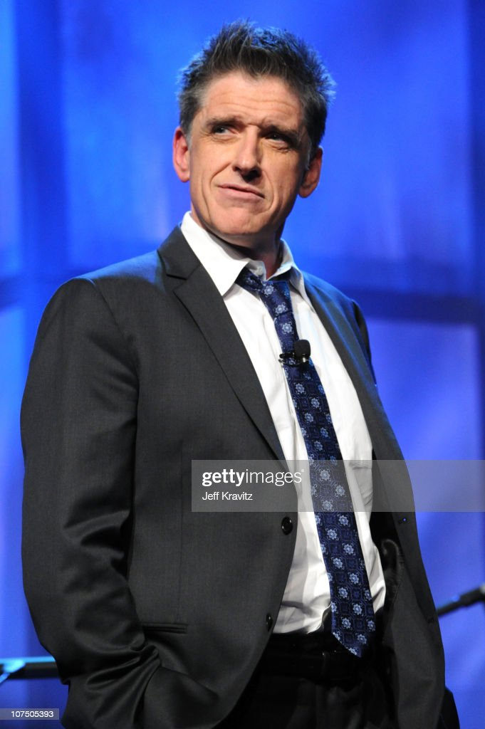 Host <a gi-track='captionPersonalityLinkClicked' href=/galleries/search?phrase=Craig+Ferguson+-+Talk+Show+Host&family=editorial&specificpeople=204509 ng-click='$event.stopPropagation()'>Craig Ferguson</a> speaks onstage at the Ambassadors for Humanity Gala to benefit the USC Shoah Foundation Institute at the Hollywood & Highland Grand Ballroom on December 9, 2010 in Los Angeles, California.