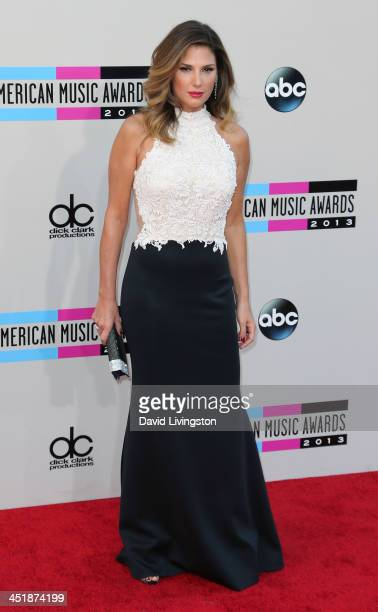 TV host Daisy Fuentes attends the 2013 American Music Awards at Nokia Theatre LA Live on November 24 2013 in Los Angeles California