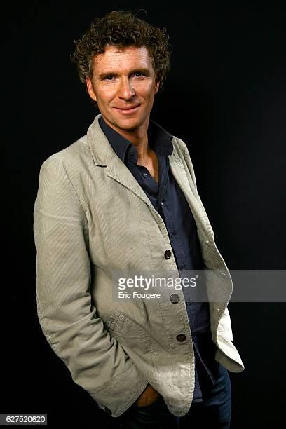TV host Denis Brogniart at the 1st 'Salon de la Tele' held in Paris