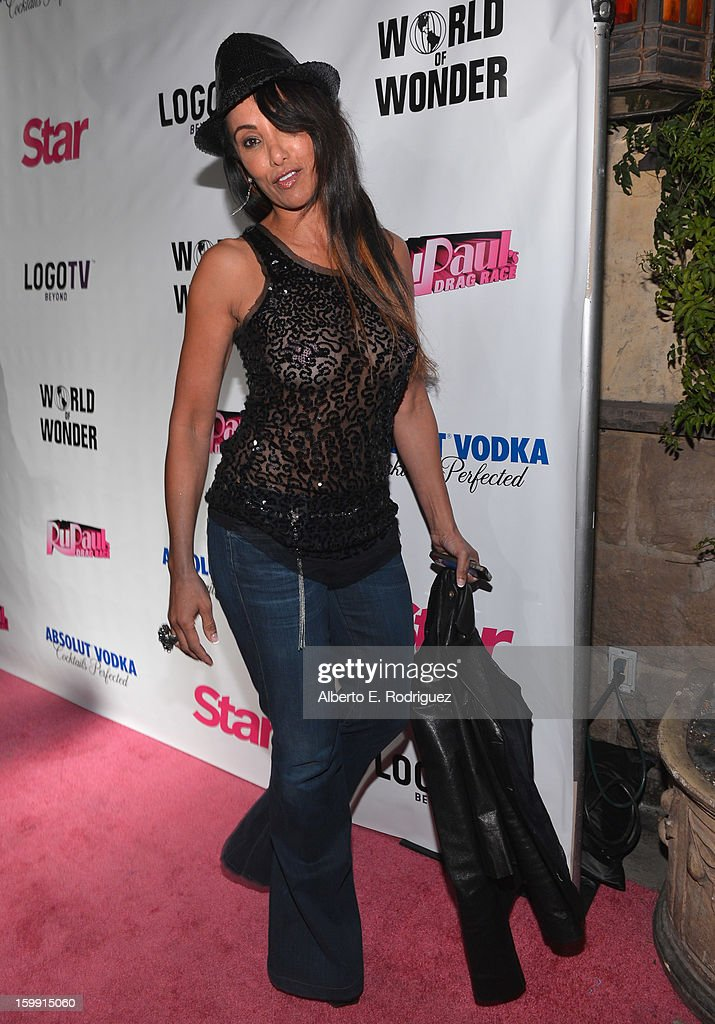TV host Downtown Julie Brown arrives to the premiere of 'RuPaul's Drag Race' Season 5 at The Abbey on January 22, 2013 in West Hollywood, California.