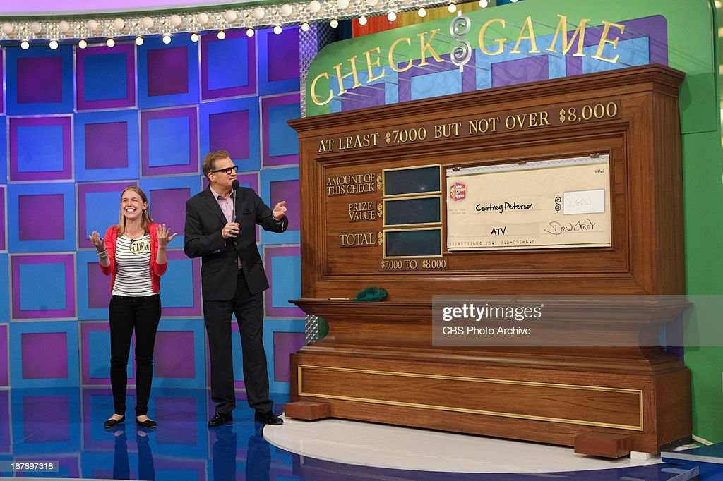 Host Drew Carey with contestant on the Daytime Emmy Award-winning game show THE PRICE IS RIGHT, daytime's #1-rated series and the longest-running game show in television history, which is having its first ever 'œDream Car Week,' beginning Monday, Nov. 18, (11:00 AM-12:00 Noon, ET; 10:00-11:00 AM, PT) on the CBS Television Network.