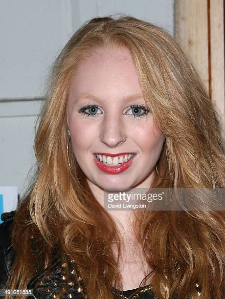 TV host Elizabeth Stanton attends the Nautica and LA Confidential's Oceana Beach House Party at the Marion Davies Guest House on May 16 2014 in Santa...