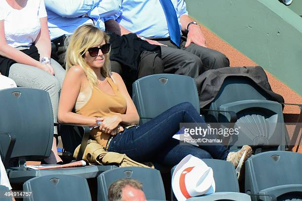 TV host Enora malagre attends the Roland Garros French Tennis Open 2014 Day 7 at Roland Garros on May 31 2014 in Paris France