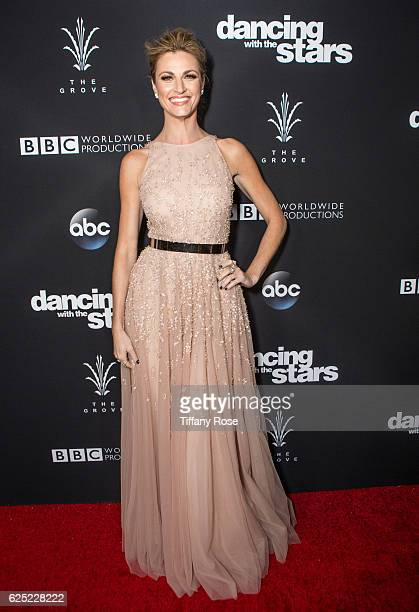 Host Erin Andrews attends the 'Dancing With The Stars' live finale at The Grove on November 22 2016 in Los Angeles California