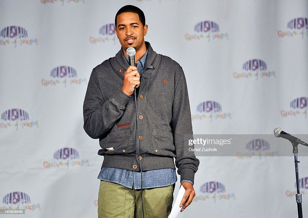 Host Esteban Serrano attends Garden of Dreams Foundation Talent Show Auditions at The Theater at Madison Square Garden on February 27, 2013 in New York City.