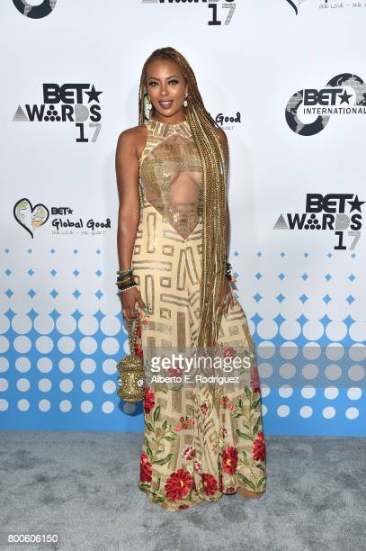 Host Eva Marcille attends the 2017 BET International Awards Presentation at Microsoft Theater on June 24 2017 in Los Angeles California