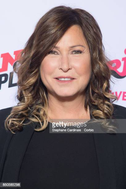 Host Evelyne Thomas attends the NRJ's Press Conference to Announce Their Schedule for 2017/2018 on September 21 2017 in Paris France