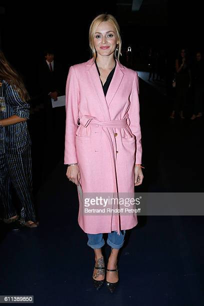 Host Fearne Cotton attends the Alexis Mabille show as part of the Paris Fashion Week Womenswear Spring/Summer 2017 on September 29 2016 in Paris...