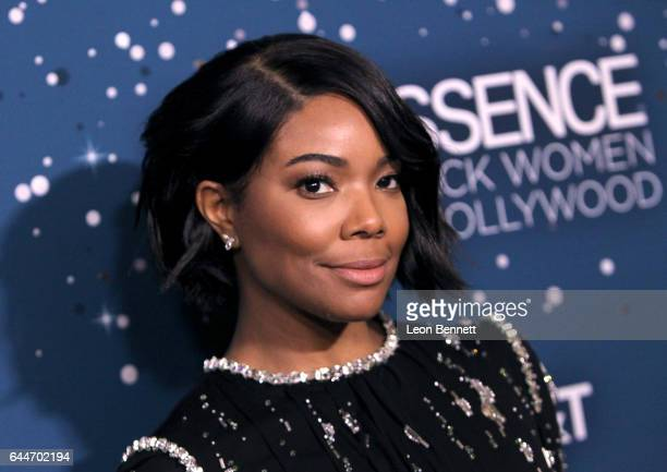Host Gabrielle Union at Essence Black Women in Hollywood Awards at the Beverly Wilshire Four Seasons Hotel on February 23 2017 in Beverly Hills...