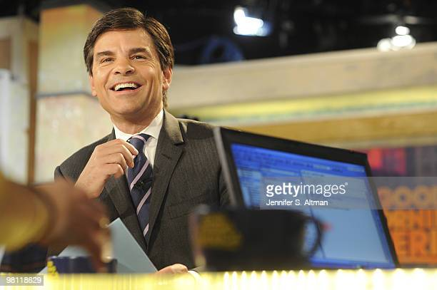 'Good Morning America' George Stephanopoulos is photographed in New York for the Los Angeles Times