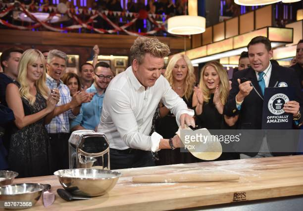 Host Gordon Ramsay and Michael Empric in the allnew Episode Eleven episode of THE F WORD WITH GORDON RAMSAY airing Wednesday August 16 on FOX