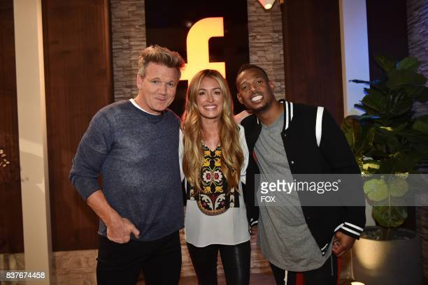 Host Gordon Ramsay and special guests Cat Deely and Marlon Wayans in the Episode Five episode of THE F WORD WITH GORDON RAMSAY airing Wednesday July...
