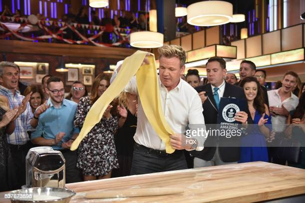 Host Gordon Ramsay in the allnew Episode Eleven episode of THE F WORD WITH GORDON RAMSAY airing Wednesday August 16 on FOX