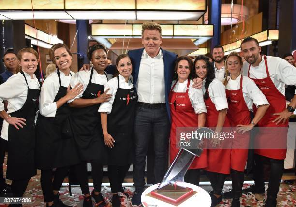 Host Gordon Ramsay with contestants in the allnew Episode Eleven episode of THE F WORD WITH GORDON RAMSAY airing Wednesday August 16 on FOX