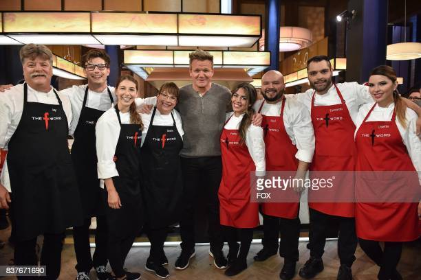 Host Gordon Ramsay with the contestants in the allnew Episode Eight episode of THE F WORD WITH GORDON RAMSAY airing Wednesday July 26 on FOX