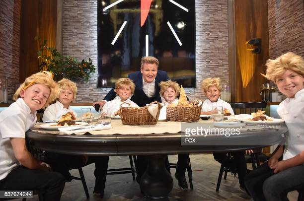 Host Gordon Ramsay with 'The Little Gordons' in the allnew Episode Eleven episode of THE F WORD WITH GORDON RAMSAY airing Wednesday August 16 on FOX