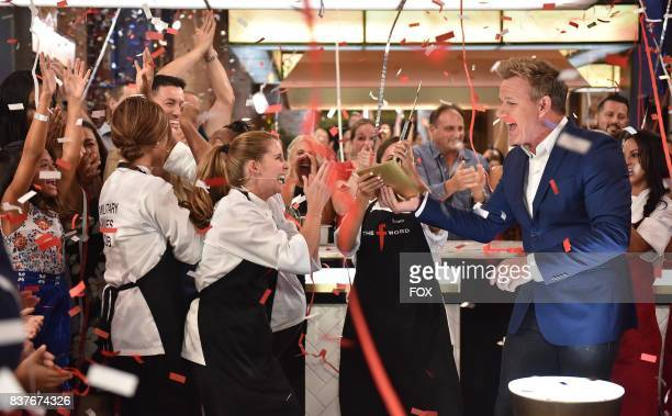Host Gordon Ramsay with the Military Wives Club in the allnew Episode Eleven episode of THE F WORD WITH GORDON RAMSAY airing Wednesday August 16 on...