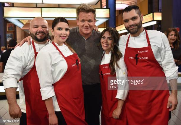 Host Gordon Ramsay with the red team in the allnew Episode Eight episode of THE F WORD WITH GORDON RAMSAY airing Wednesday July 26 on FOX