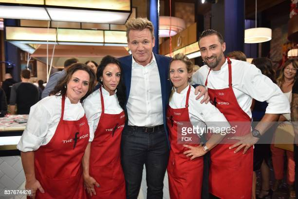 Host Gordon Ramsay with the red team in the allnew Episode Eleven episode of THE F WORD WITH GORDON RAMSAY airing Wednesday August 16 on FOX
