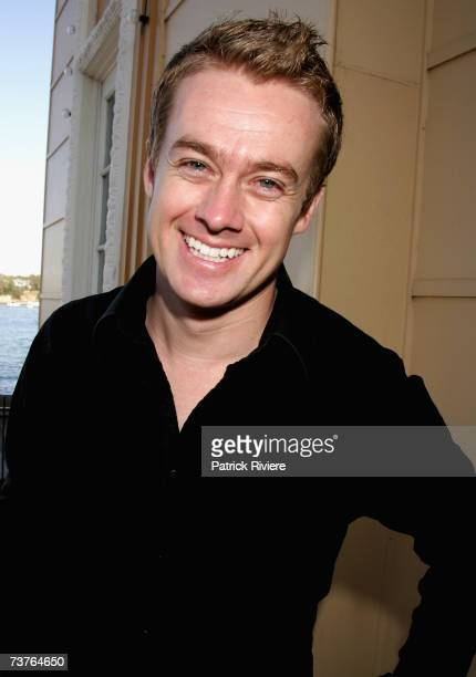 TV host Grant Denyer attends the nominations announcement for the 2007 TV Week Logie Awards at Luna Park on April 2 2007 in Sydney Australia The 2007...