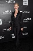 Host Gwyneth Paltrow attends the 2014 amfAR LA Inspiration Gala at Milk Studios on October 29 2014 in Hollywood California