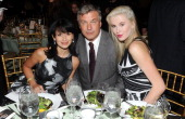 Host Hilaria Baldwin actor Alec Baldwin and model Ireland Baldwin attend the 5th annual Inspire gala hosted by Bent On Learning on January 29 2014 in...