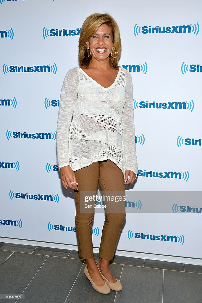 TV host Hoda Kotb hosts an exclusive guest DJ session on SiriusXM's The Highway channel to celebrate the launch of TODAY Show Radio on SiriusXM on on...