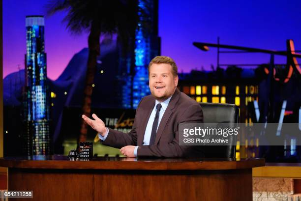 Host James Corden during 'The Late Late Show with James Corden' Tuesday February 21 2017 On The CBS Television Network