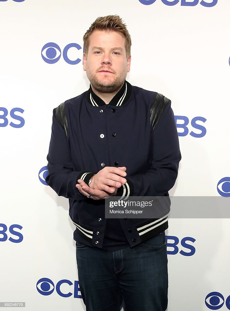 Host James Corden of CBS television series 'The Late Late Show with James Corden' attends the 2016 CBS Upfront at Oak Room on May 18 2016 in New York...