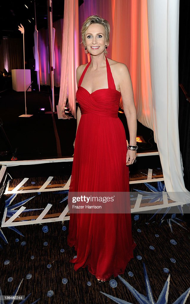 Host <a gi-track='captionPersonalityLinkClicked' href=/galleries/search?phrase=Jane+Lynch&family=editorial&specificpeople=663918 ng-click='$event.stopPropagation()'>Jane Lynch</a> attends the 14th Annual Costume Designers Guild Awards With Presenting Sponsor Lacoste held at The Beverly Hilton hotel on February 21, 2012 in Beverly Hills, California.