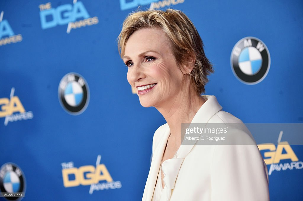 Host Jane Lynch attends the 68th Annual Directors Guild Of America Awards at the Hyatt Regency Century Plaza on February 6, 2016 in Los Angeles, California.