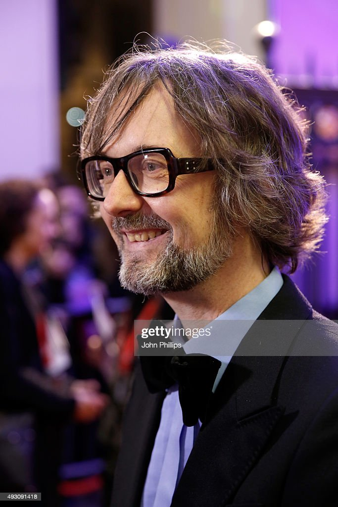 Host <a gi-track='captionPersonalityLinkClicked' href=/galleries/search?phrase=Jarvis+Cocker&family=editorial&specificpeople=234955 ng-click='$event.stopPropagation()'>Jarvis Cocker</a> attends the BFI London Film Festival Awards at Banqueting House on October 17, 2015 in London, England.